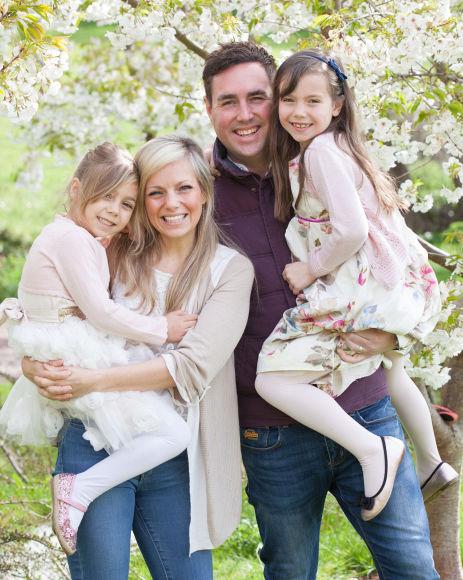 Family photo shoot with emily fairweather